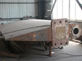 marine rudder system stock trunk blade