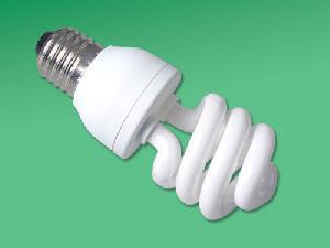 spiral compact fluorescent bulb