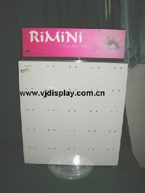 acrylic eyelash display stand