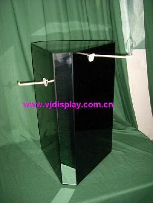 acrylic revolving peg display