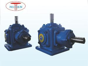 caixa angular right angle spiral bevel gear reducer