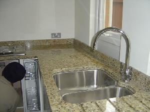 Polished granite countertops 96 inch x26 inch x3 4 inch for 1 inch granite countertops