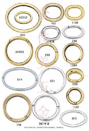 zinc spring ring o