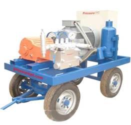 pressure hydro blaster machine