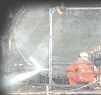 pressure water jet tank vessel reactor cleaning equipments