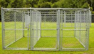 portable chain link animal kennels dog