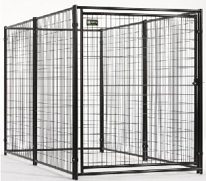 welded mesh kennel modular dog kennels