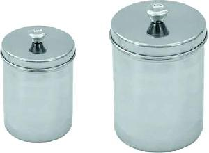 surgical medical dressing jars stainless steel