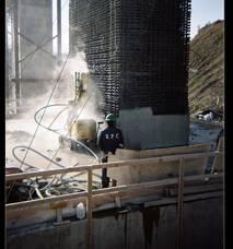 pressure hydro demolition