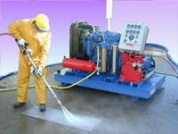 ultra pressure pump surface preparation
