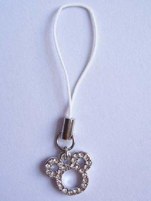 crystal stone cell phone strap cc 0703002