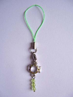 fish stone cell phone strap cc 0703001