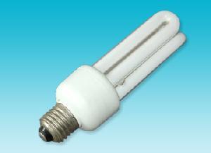 3u shape energy saving lamp tri phosphor powder light tube flick