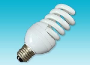 spiral shape compact fluorescent lamp