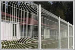 expanded temporary fence