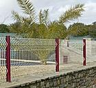 guardrail fencing mesh manufactury