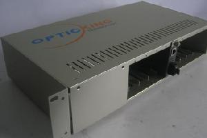 fiber media converter rack mount