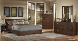 bedroom ndf 033 solid mahogany wood