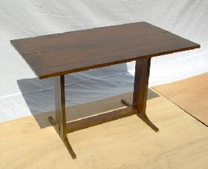 butterfly table solid mahogany