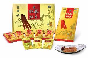 ginseng slice korea