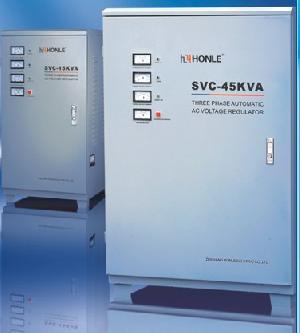 svc phase accuracy ac voltage stabilizers