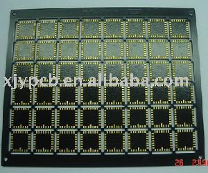 2 layer plated soft gold pcb