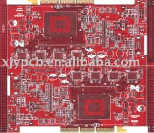 4 layer hasl finger pcb