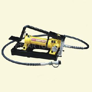 wxb 800 hydraulic hand pumps foot operation