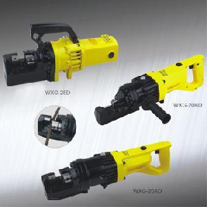 wxg electro hydraulic rebar cutter