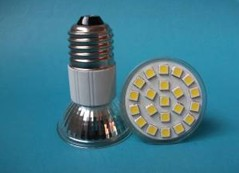21 smd led spotlight jdr e27 e14