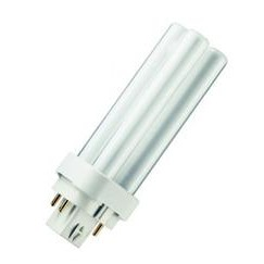 tube cfl pl 2pin g24d c 1 4 broches g24q