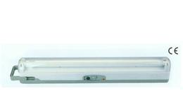 fluorescent emergency lantern lighting fixture