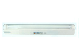 rechargeable fluorescent light fixture emergency lighting