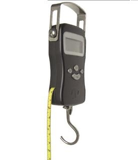 portable fishing scale meter softmeasure 110 lb 50 kg