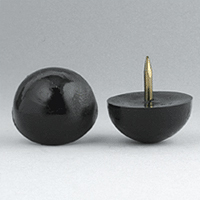 domed tack glide nail glides furniture
