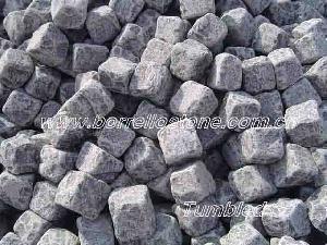 tumbled cube stone