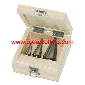 cutting tools sheet metal wooden box