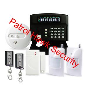 gsm anti burglary alarm system