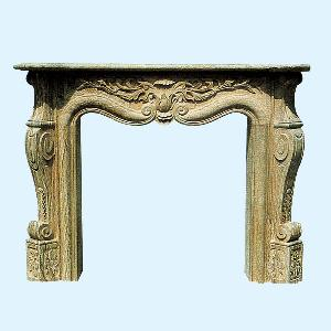 marble fireplace