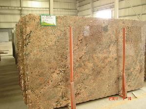 golden granite countertop