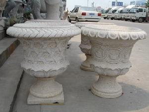 granite flower pot stone basin tub