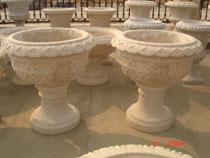 granite flower pots garden stone