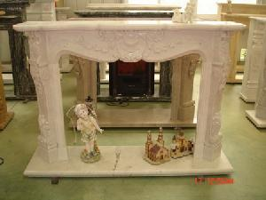 granite marble sandstone fireplace