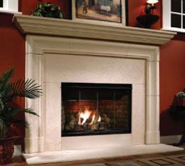 granite stone fireplaces
