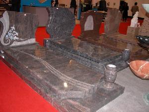 granite stone monument memory tombstone