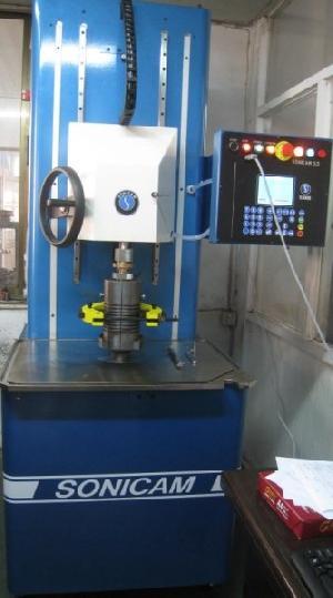 jg glass mould equipped gauging machine
