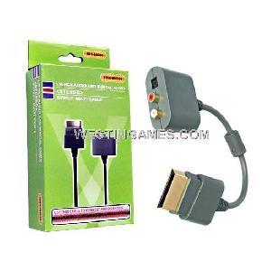 l r rca audio digital multi cable xbox360