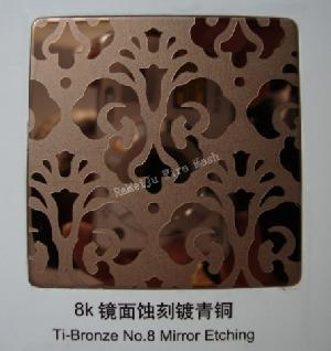 decorative stainless steel sheet etching industrial