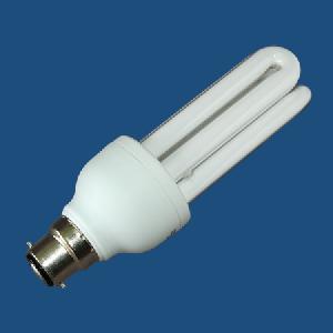 energy saving lamp 3u bayonet shape tri phosphor powder light tube pbt plastic