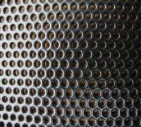 powder coated perforated metal screen